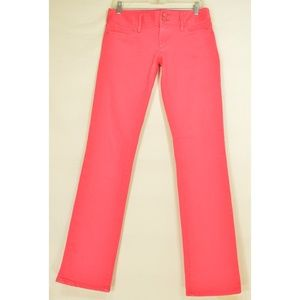 Lilly Pulitzer jeans 4 x 35 Worth Straight rose